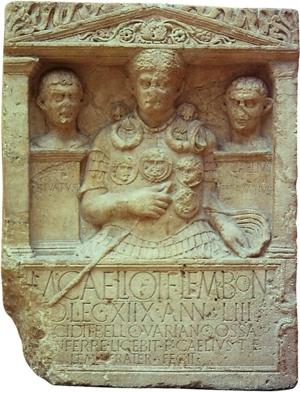 Romersk gravsten